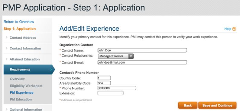 How to Complete Your PMP Application Step-by-Step