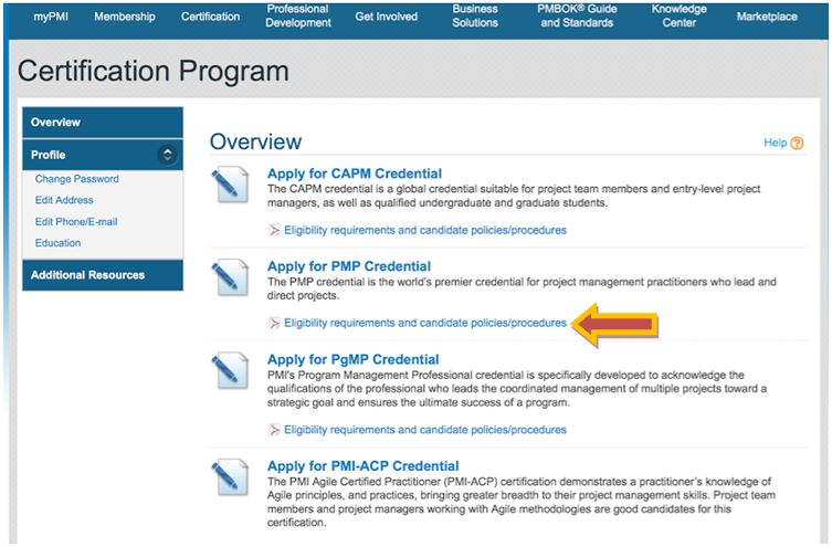 How To Complete Your Pmp Application Step By Step