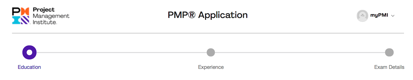 pmp application process